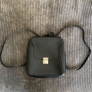 Brandy Melville Mini Backpack Purse - Black
